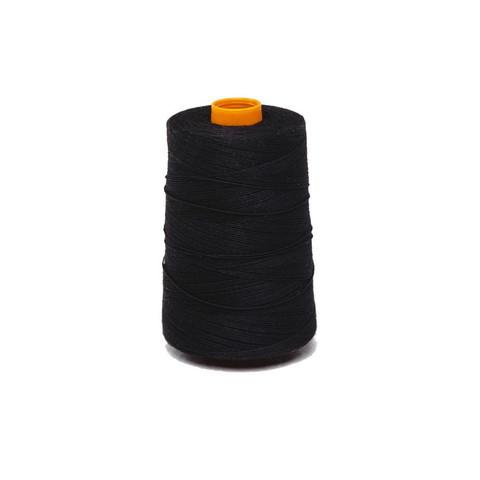 Нить прошивная лавсан ЛШ 170 черная (1000 м),уп. пакет
