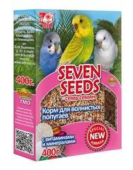 Корм для волнистых попугаев с витаминами и минералами Seven Seeds Special
