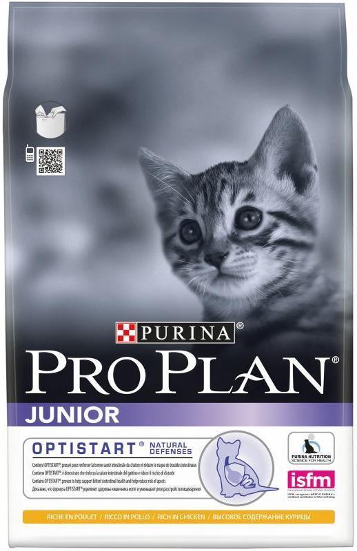 Сухой корм Сухой корм для котят, Purina Pro Plan Junior, с курицей котята_кур2.jpg