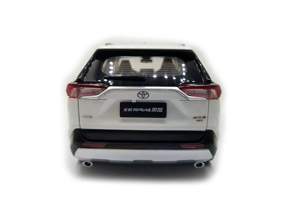 Коллекционная модель TOYOTA NEW RAV4 MODEL 2020 WHITE