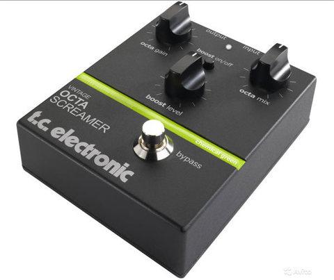 Гитарная педаль T.C.Electronic Vintage Octa Screamer