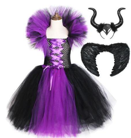 Малефисента платье детское