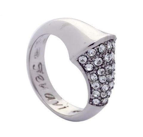 Кольцо с серебрением Танака