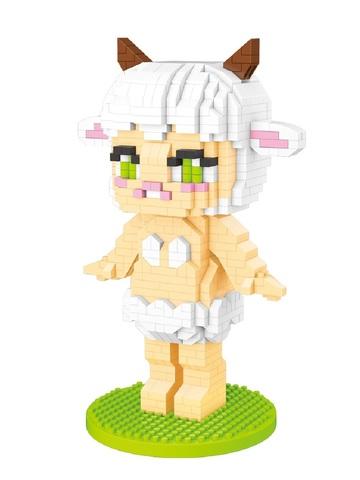 Конструктор LNO Поп Март Овца 708 деталей NO. 327 POP MART Sheep