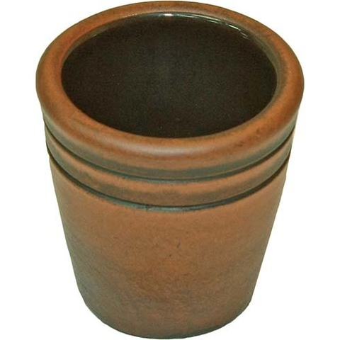 Стакан глиняный с глазурью внутри (90 мл)