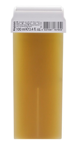 Жирорастворимый воск с экстрактом Меда, 100 мл в картридже Kapous