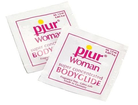 Лубрикант на силиконовой основе pjur WOMAN - 1,5 мл.