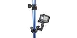 Крепление для музыкальных инструментов GoPro The Jam-Adjustable Music (AMCLP-001) на трубе с камерой