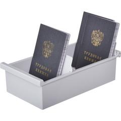 Картотека для карточек Exacompta А7 на 600 карточек (225x123x65 мм, открытая)