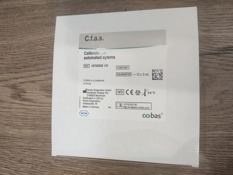 10759350190 Калибратор для автоматизированных систем (Calibrator for automated systems (C.f.a.s.)) 12х3мл, Roche Diagnostics GmbH, Германия