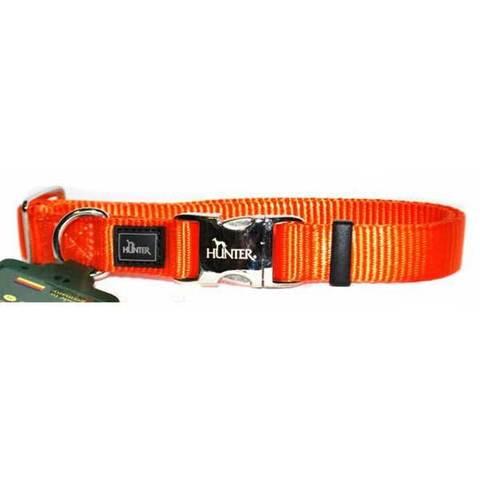 HUNTER Ошейник для собак нейлоновый с металлической застежкой ALU-Strong S (30-45 см)