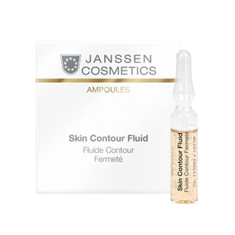 JANSSEN COSMETICS Anti-age лифтинг-сыворотка в ампулах с пептидами, стимулирующими синтез эластина | Skin Contour Fluid 3х2 ml