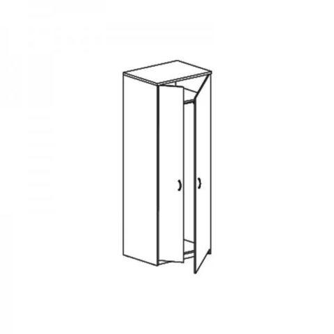 W-50+W-9.2 Шкаф для одежды глубокий (72*58*183)