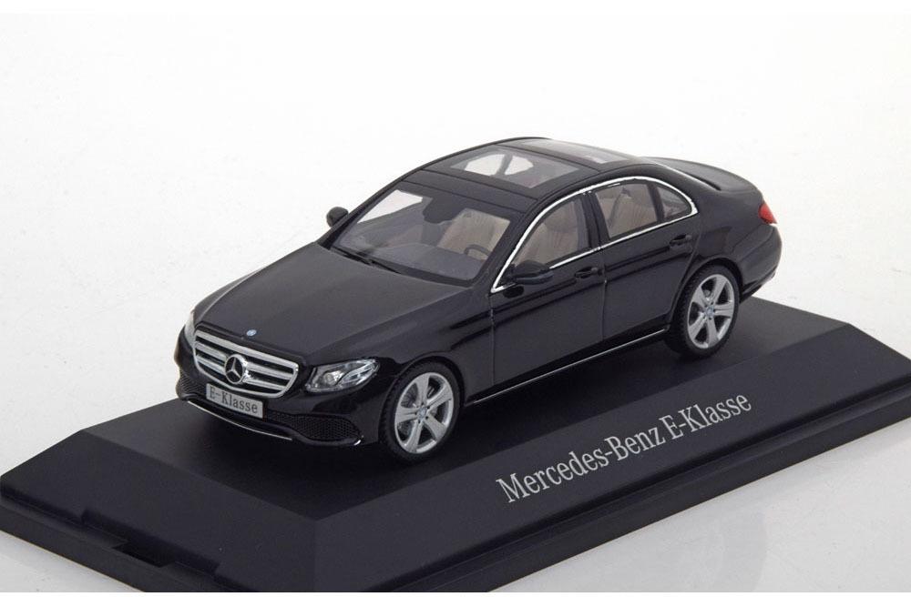 Коллекционная модель MERCEDES-BENZ W213 E-CLASS SALOON AVANTGARDE 2017 OBSIDIAN BLACK