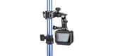 Крепление для музыкальных инструментов GoPro The Jam-Adjustable Music (AMCLP-001) на трубе с камерой вид сзади
