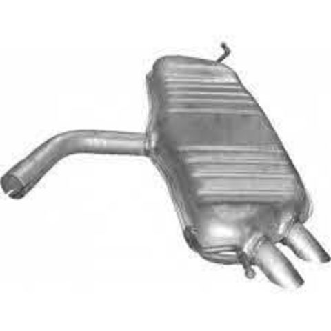 глушитель VW Touran 1.9 TDi TD/ 2.0 TDi TD 02/03-05/10 ; Skoda Yeti 2.0 TDI
