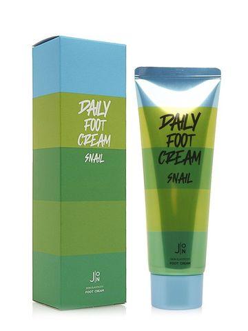 Смягчающий, увлажняющий крем для ног с муцином улитки Snail Daily Foot Cream