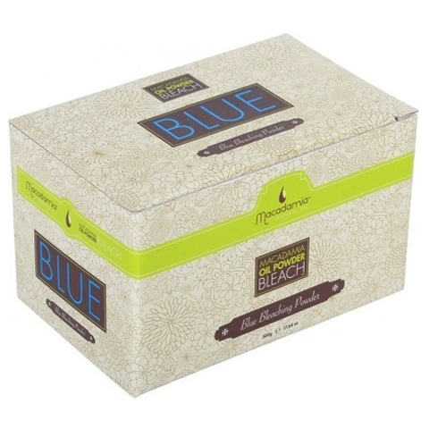 Macadamia Oil Сream Сolor: Обесцвечивающая синяя пудра для волос (Oil Powder Bleach Blue)