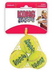 """Игрушка для собак KONG  Air """"Теннисный мяч"""" очень маленький (в упаковке 3 шт) 4 см"""