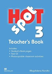 Hot Spot 3 Teacher's Book + Test D