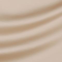 Шёлковый атлас с эластаном оттенка карамели