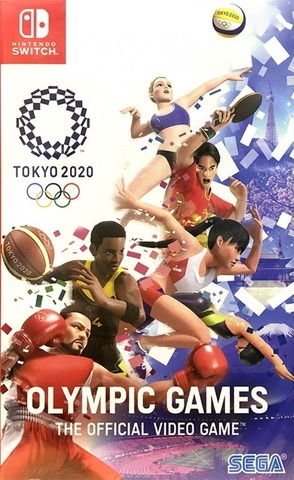 Tokyo 2020 Olympic Games Official Videogame (Nintendo Switch, русские субтитры)
