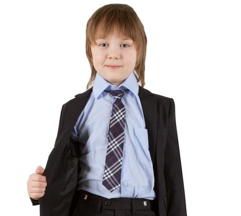 Детский галстук для мальчика