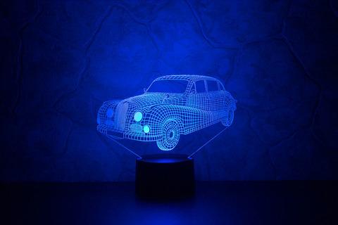 3D светильник BMW 501
