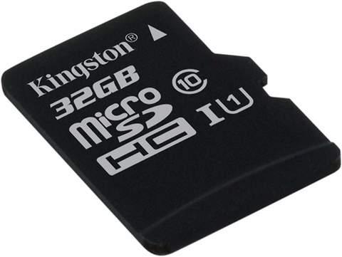 Карта памяти Kingston micro SD 32 Gb 80Mb/s