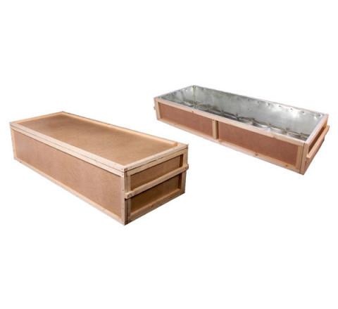 Цинковый ящик под деревянный гроб