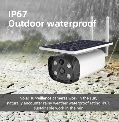 Уличная IP камера 4G LTE FHD 2MP с солнечной панелью Inlifecam IF-Q5G