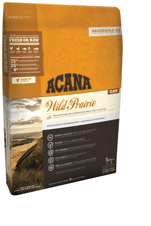 Сухой корм Корм для кошек Acana Wild Prairie с цыпленком и индейкой (новая формула) WILD_PRAIRIE_Cat_Kitten_new.png