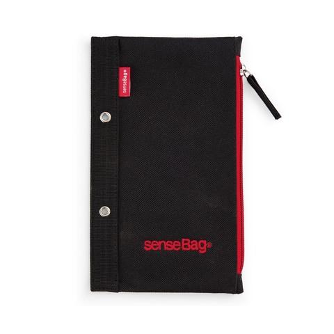Пенал текстильный Copic senseBag 21 х 12,5 см плоский черный