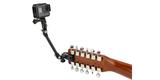 Крепление для музыкальных инструментов GoPro The Jam-Adjustable Music (AMCLP-001) на гитаре с камерой