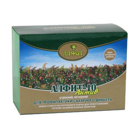 Чай Алфит-Актив № 10 сахарный диабет, 60 бр. (Гален)