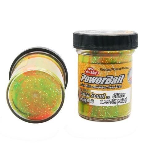 Форелевая паста Berkley - STBGRB (1004950) Extra Scent Glitter цвет радуга