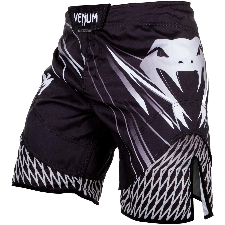 Шорты Шорты Venum Shockwave 4.0 Fightshorts Black/Grey 1.jpg