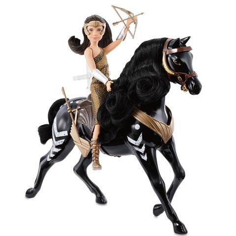 Молодая Диана с Лошадью. Чудо-Женщина 1984