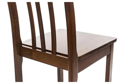 Стул деревянный кухонный, обеденный, для гостиной Aron cappuccino деревянное сиденье 41*41*100 Cappuccino