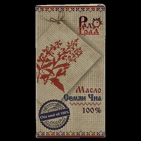 Масло семян Чиа холодного отжима нерафинированное РАДОГРАД, 100 мл