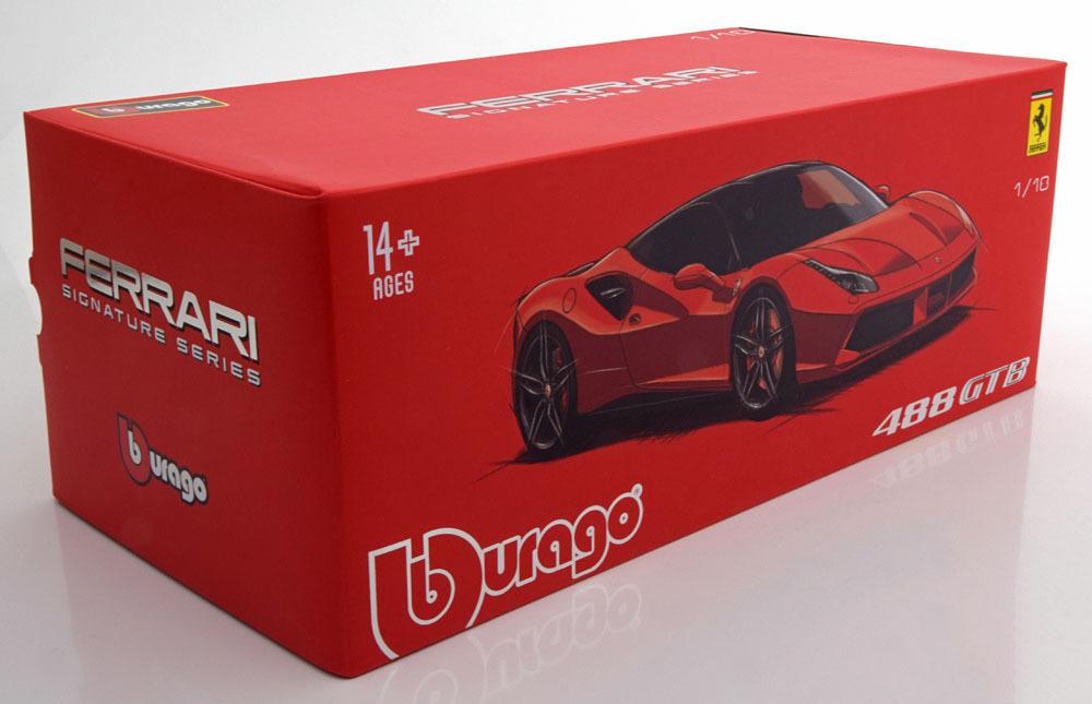 Коллекционная модель Ferrari 488 GTB 2015 Signature Serie Red