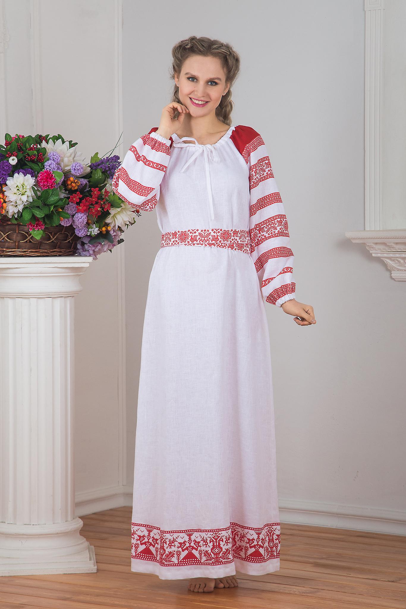 Платье Белая черемуха