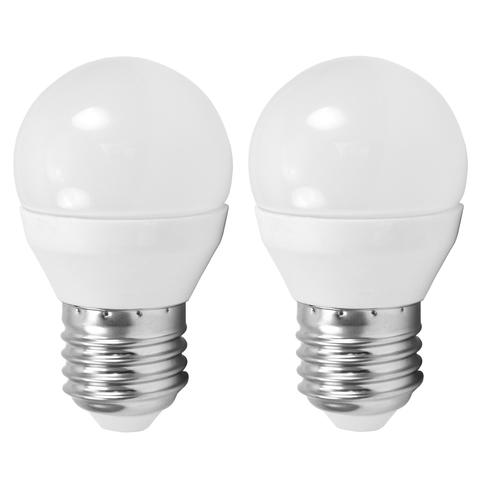 Лампа (комплект 2 шт.) Eglo LED LM-LED-E27 2X4W 320Lm 4000K G45 10778