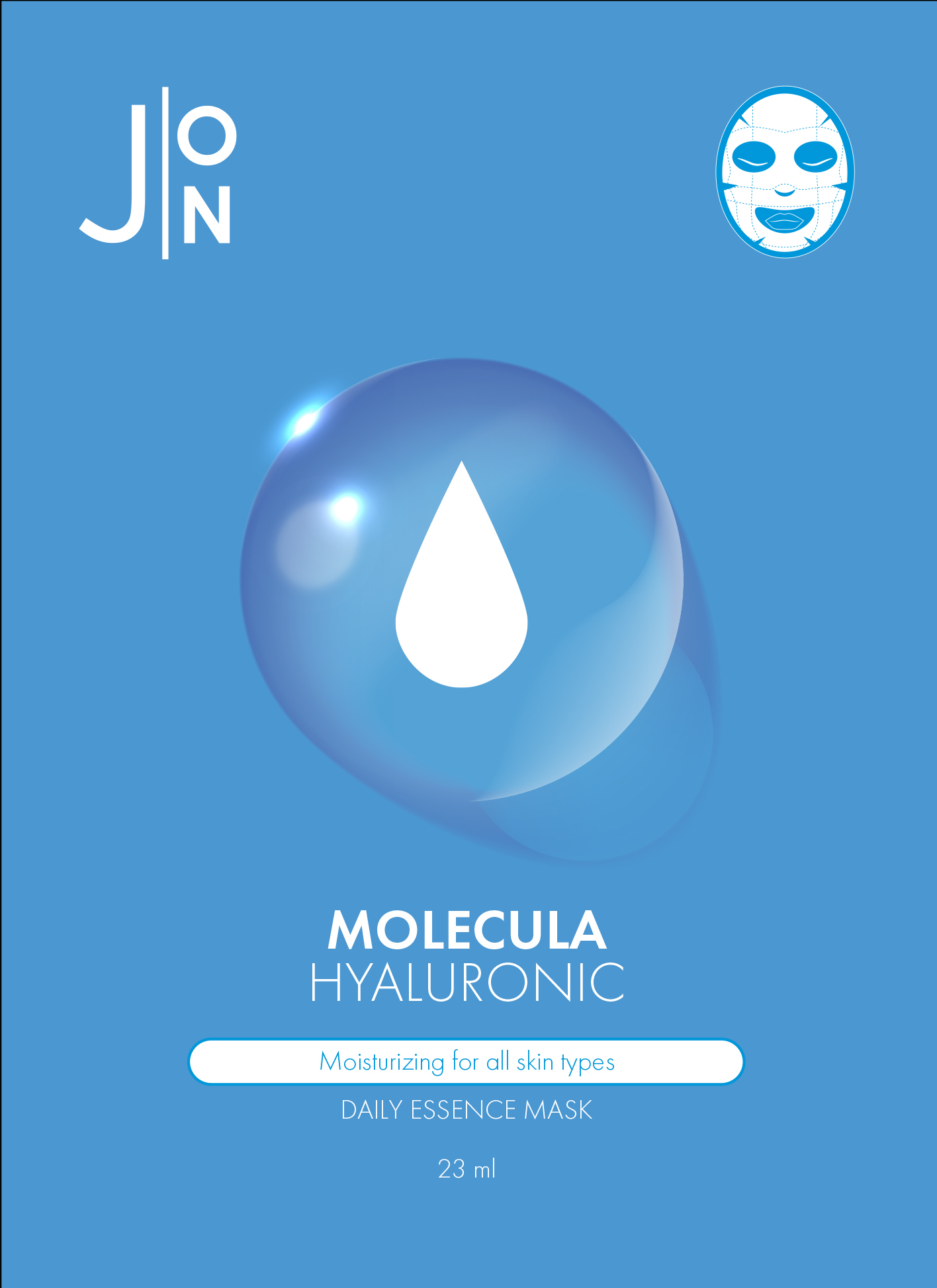 Тканевая Маска С Гиалуроновой Кислотой (J:On Hyaluronic Acid Daily Mask Sheet)