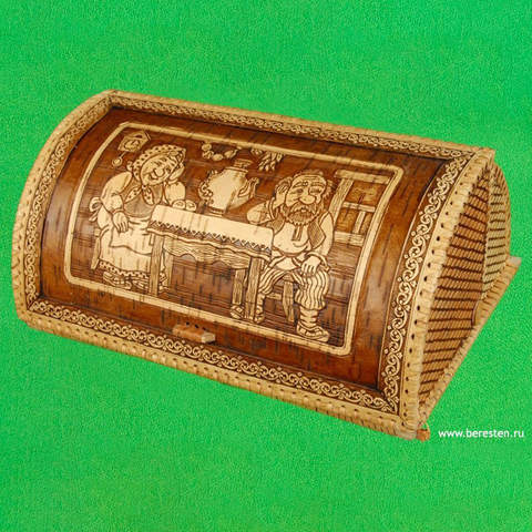 Хлебница шлем Чаепитие 1
