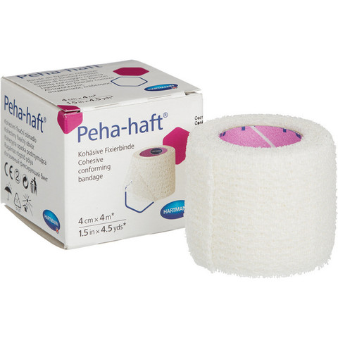 Бинт Peha-haft самофиксирующийся эластичный 4 м x 4 см