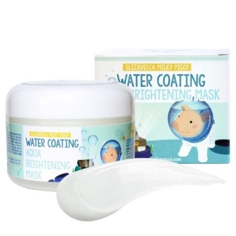 Elizavecca Milky Piggy Water Coating Aqua Brightening Mask маска увлажняющая для сияния кожи  с морским виноградом