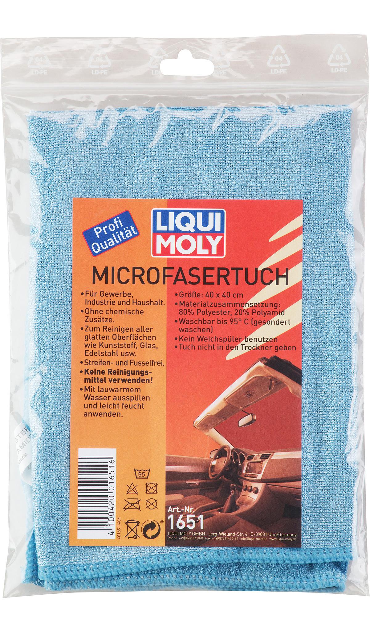 Liqui Moly Microfasertuch Универсальный платок из микрофибры