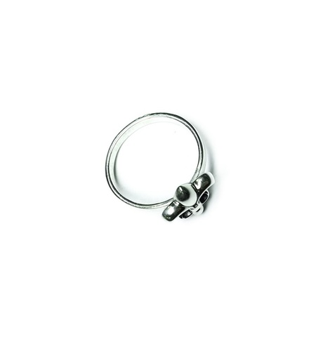 Royal Lily Ring, Sterling Silver