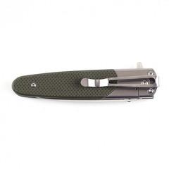 Складной нож Ganzo G743-2 (черный, оранжевый, зеленый)